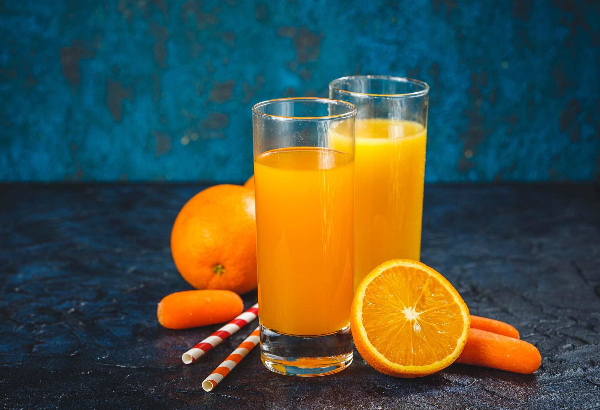 Appelsin-gulerodsdrik