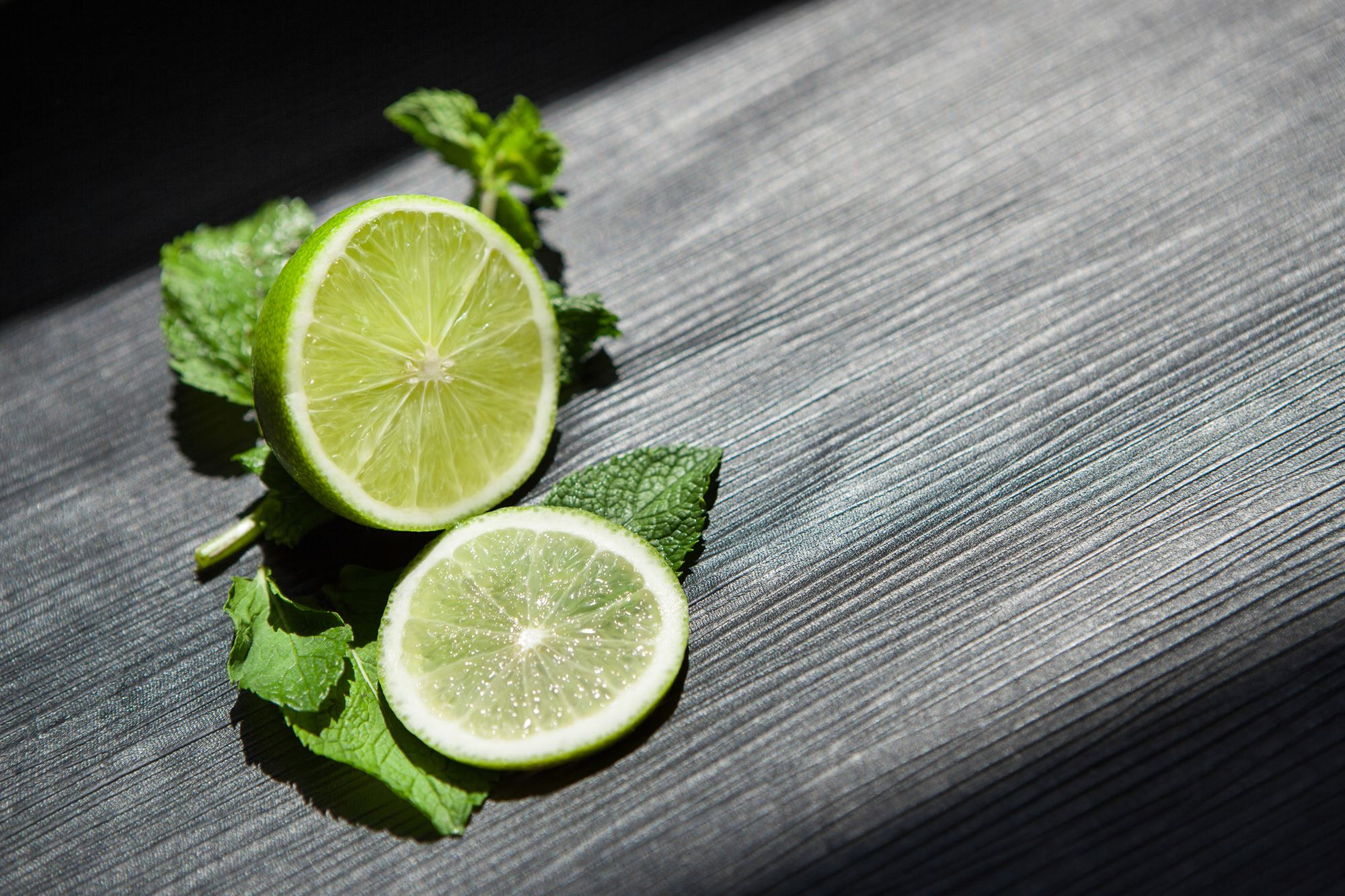 Limekløfter med citronmelisse