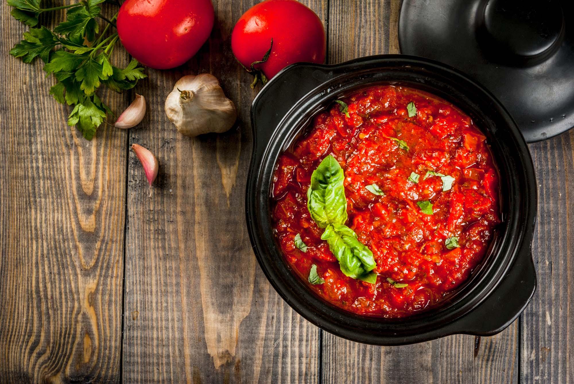 Rigtig tomatsauce