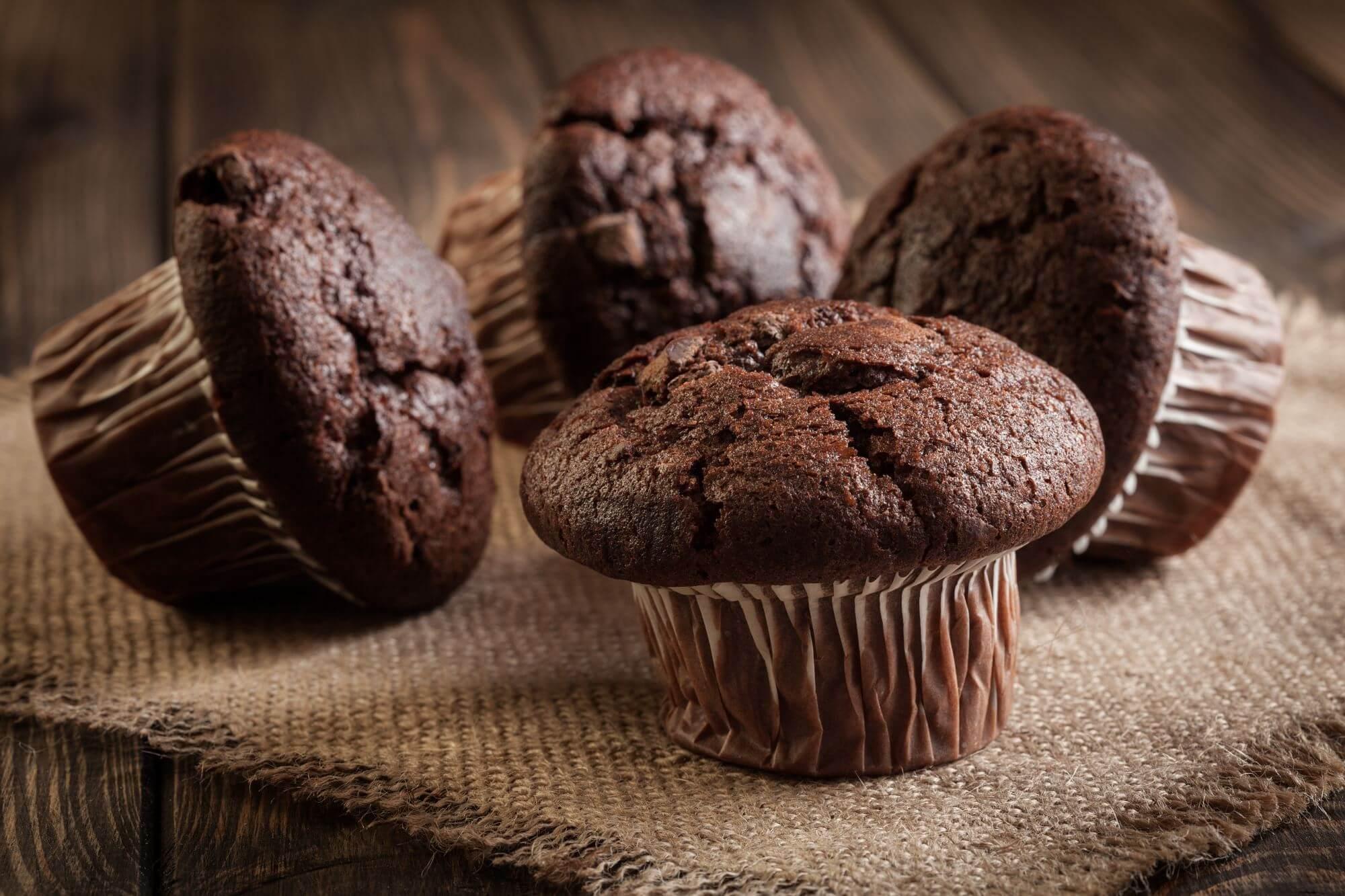 Chokolademuffins uden smør