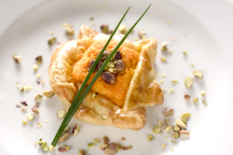 Græskartærte med amaretti