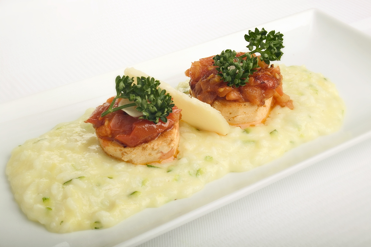 Sommer-risotto