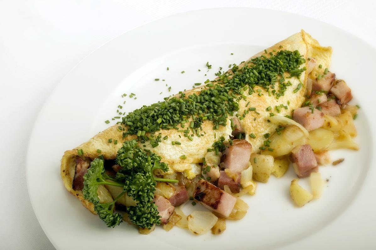 Omelette Paysanne - Bonde omelet
