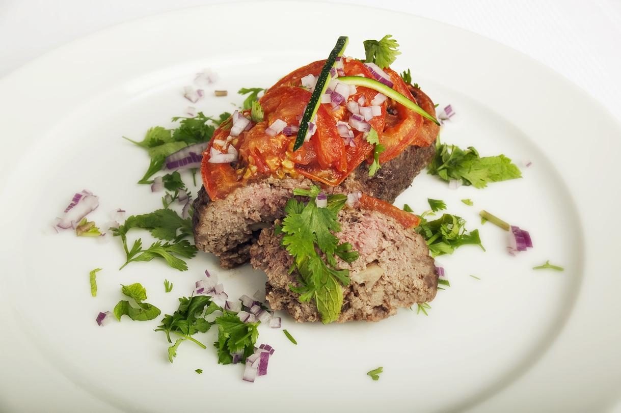 Dansk farsbrød med svine- og oksekød