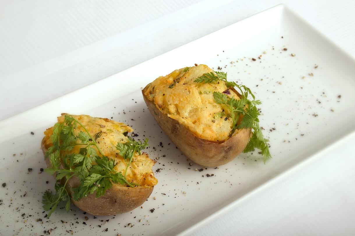 Fyldte mexicanske kartofler