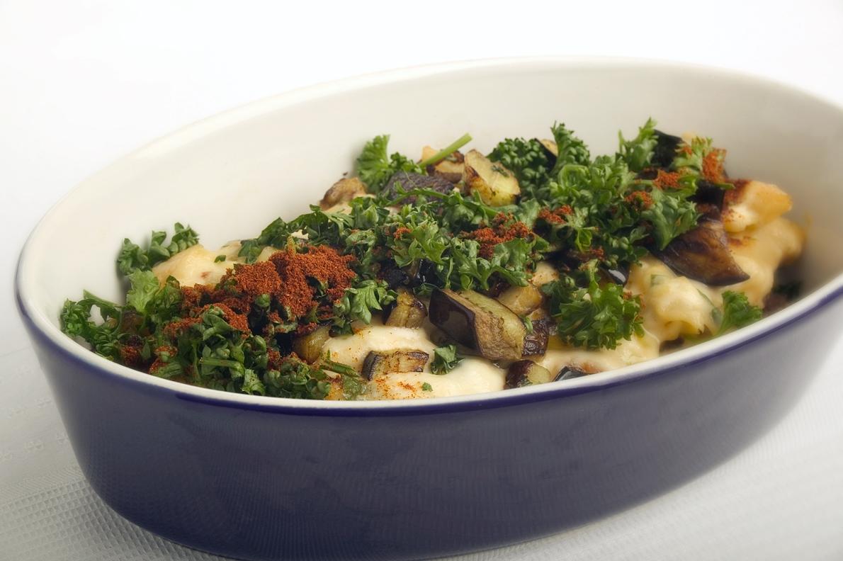 Pastitsio med lam og aubergine