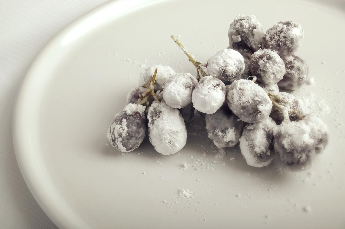 Glaserede druer