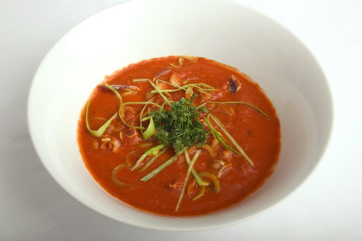 Lækker tomatsuppe