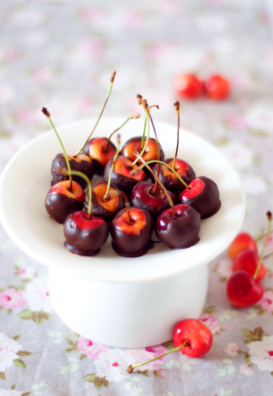 Chokoladedyppede kirsebær