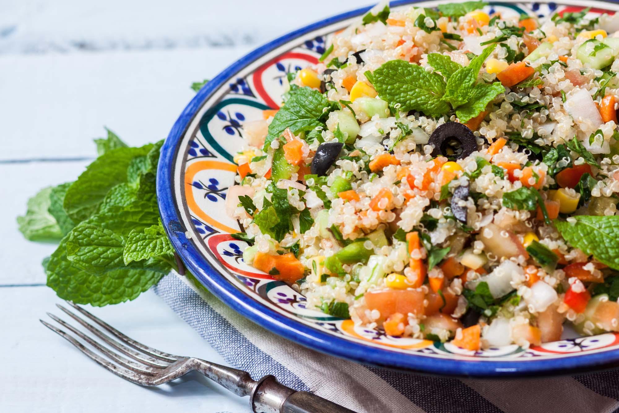 Salat - Tabouleh med quinoa