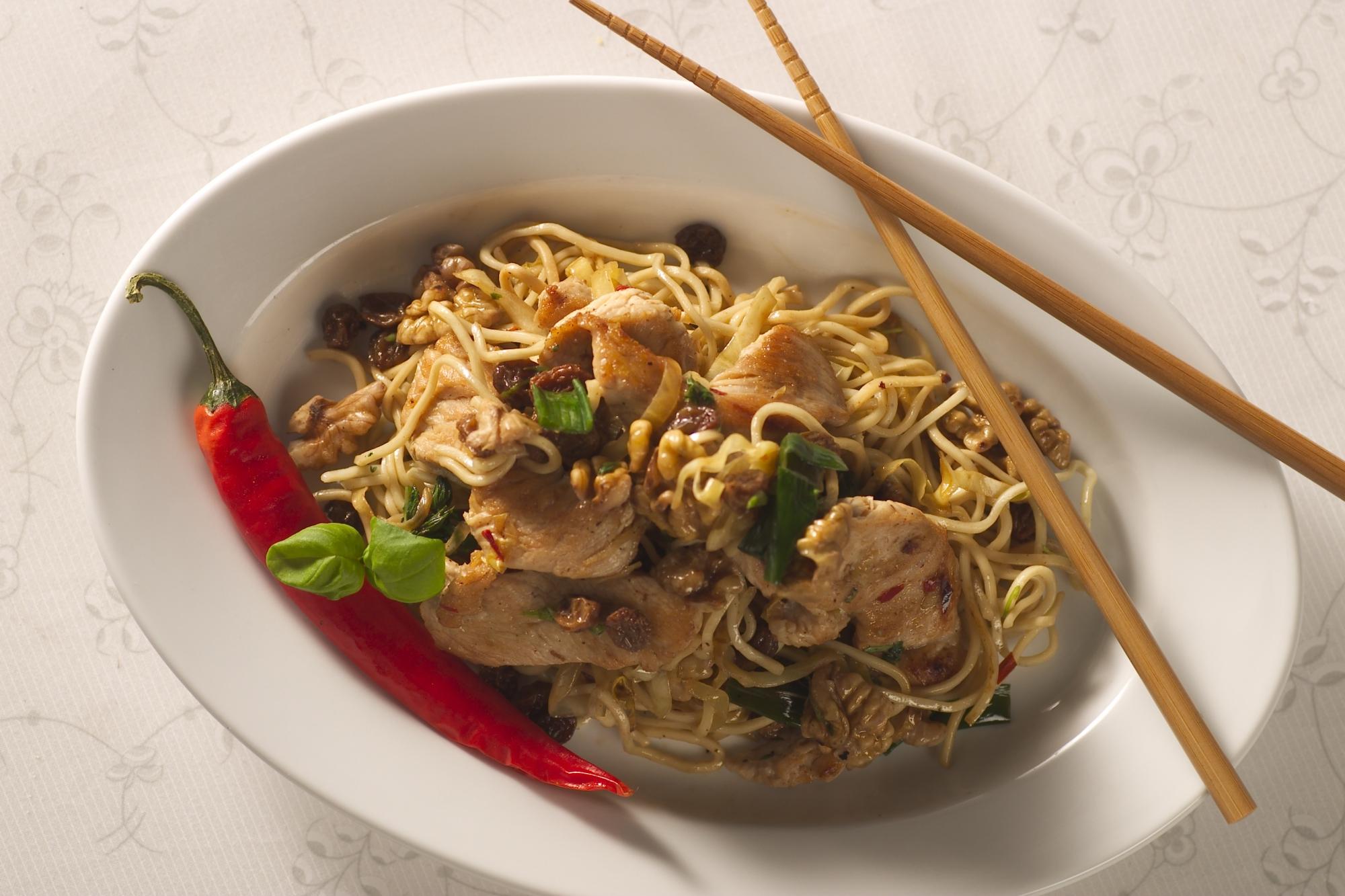 Kalkun i wok