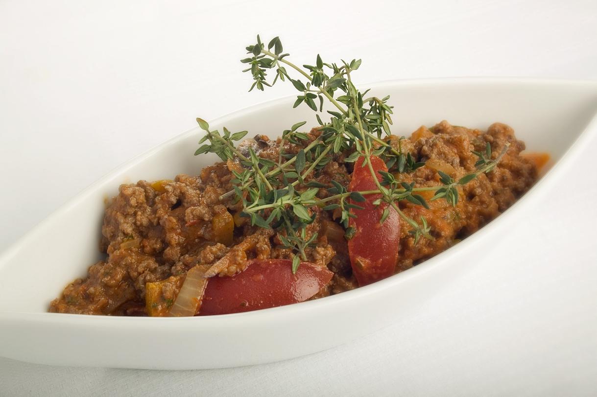 Kødsauce med timian