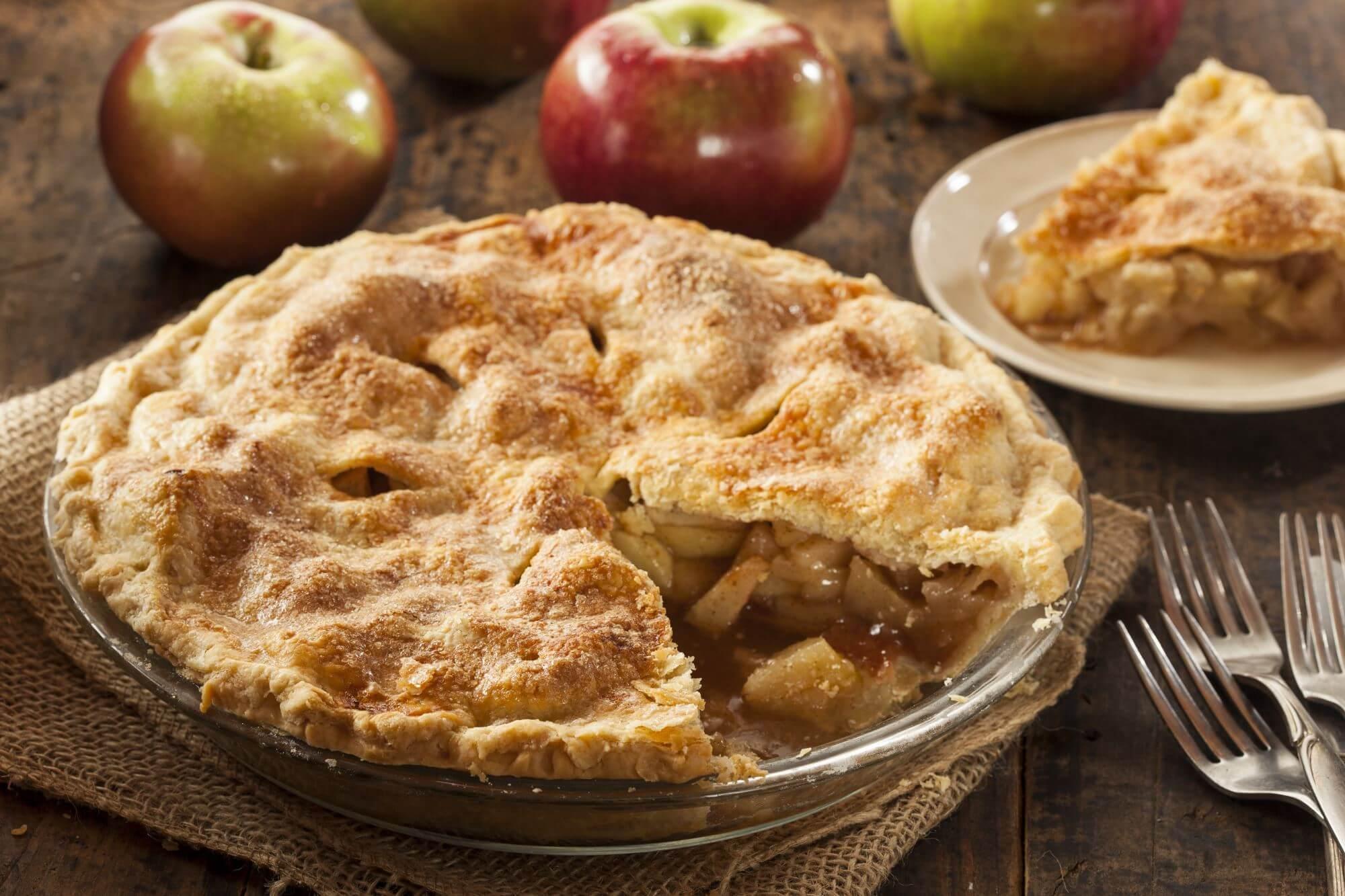 Bondens æblekage