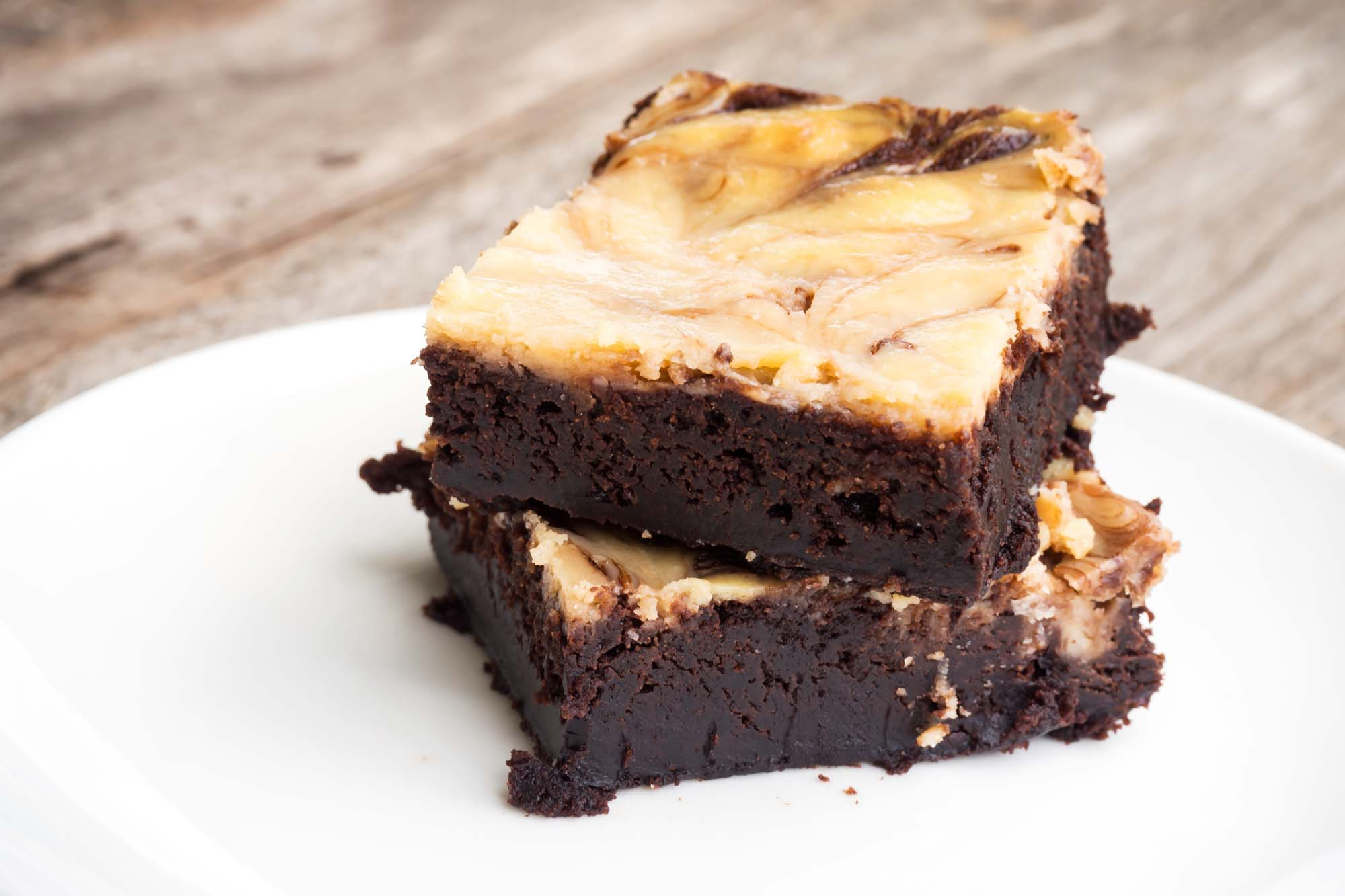 Amerikanske Snickers-brownies