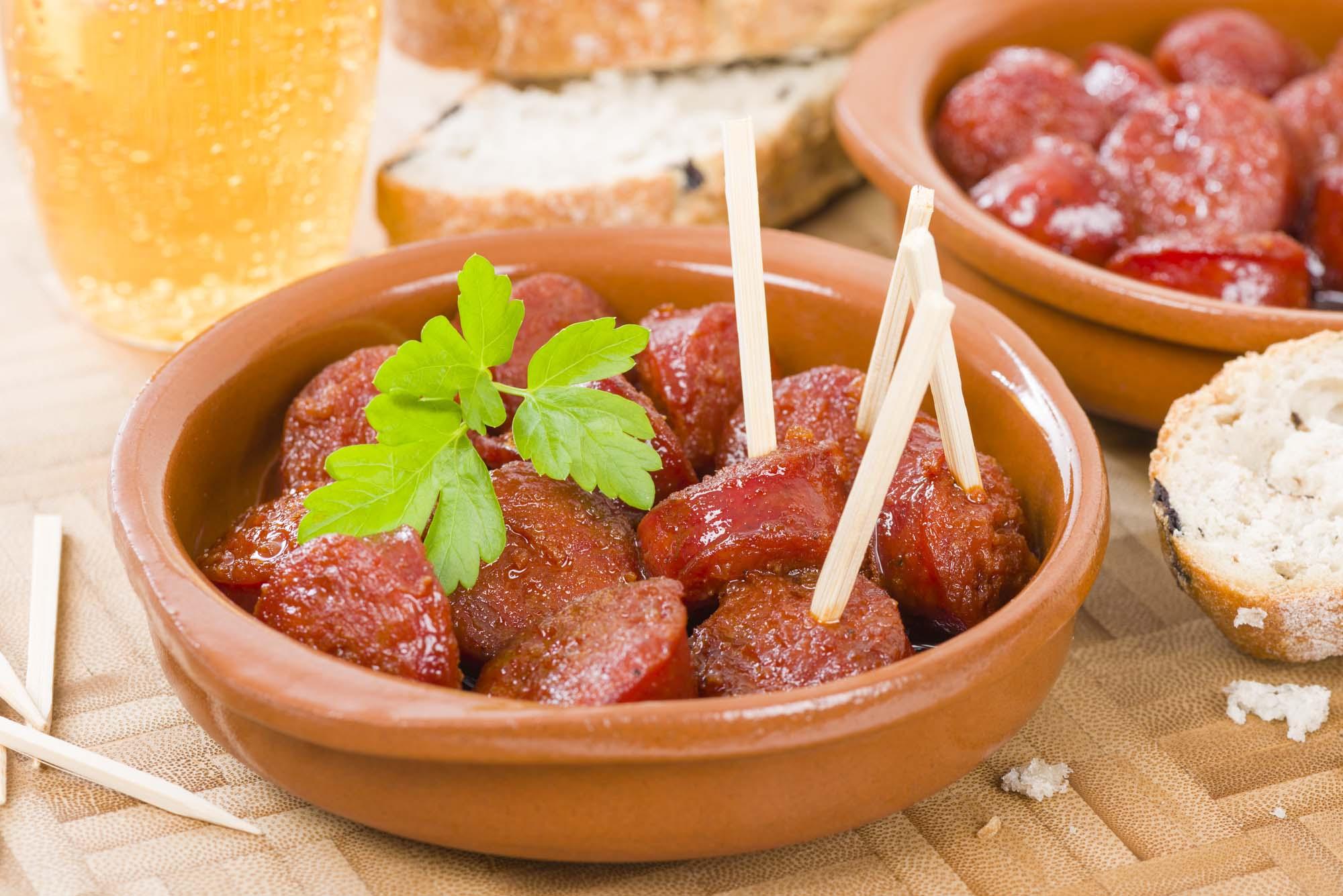 Tapas - Chorizo i cider mv.