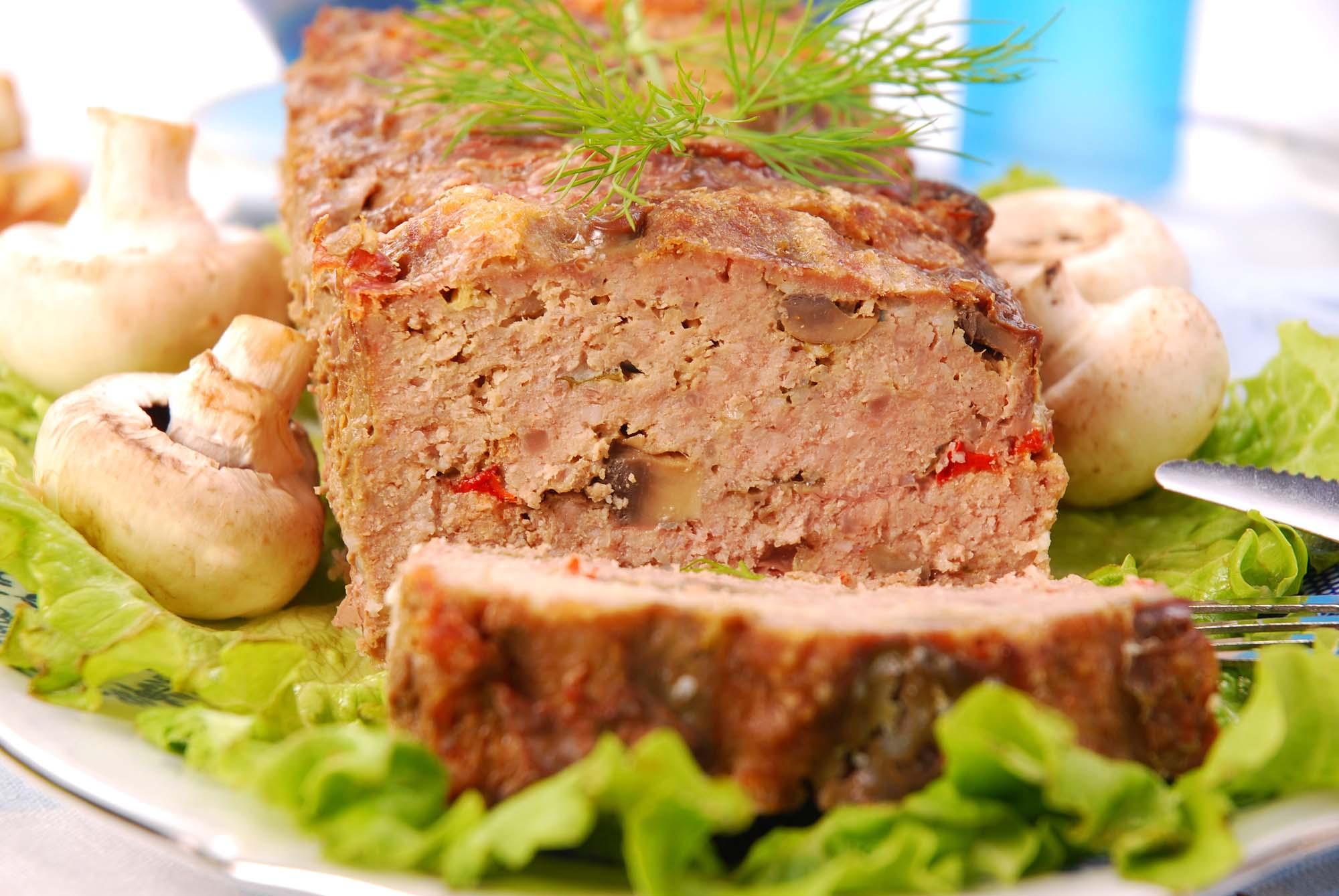 Farsbrød med champignon
