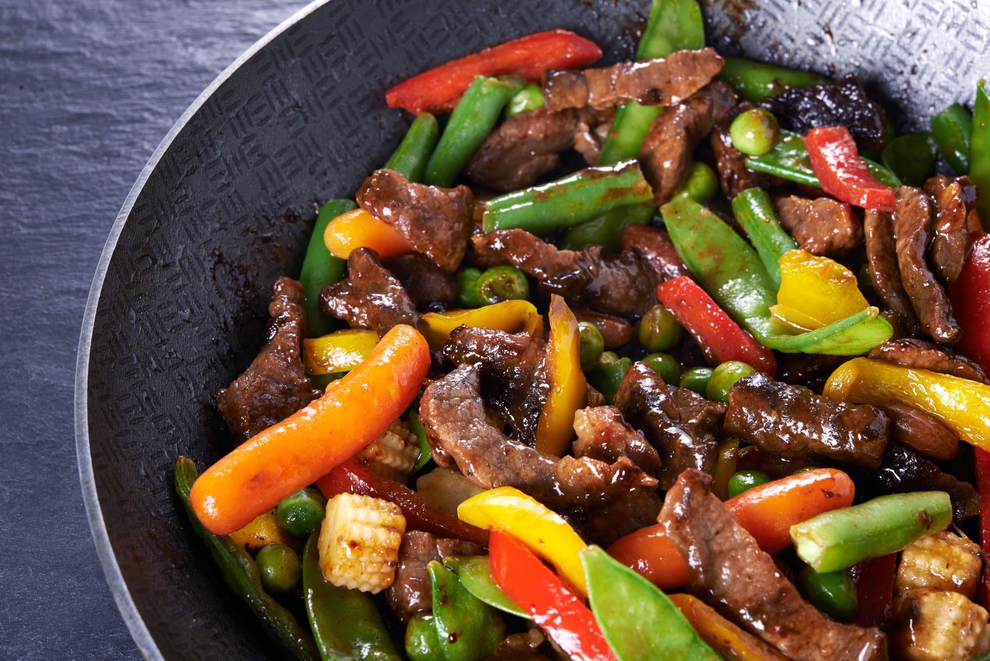 Asiatisk stir fry