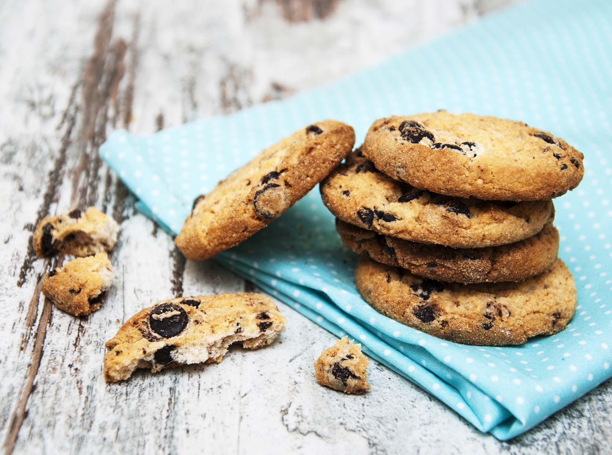Chokolade småkager