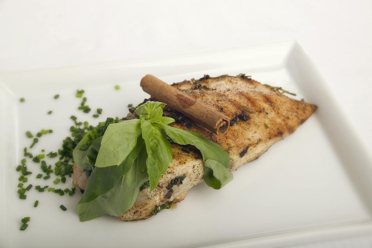 Grillet kylling med oregano, kanel og paprika