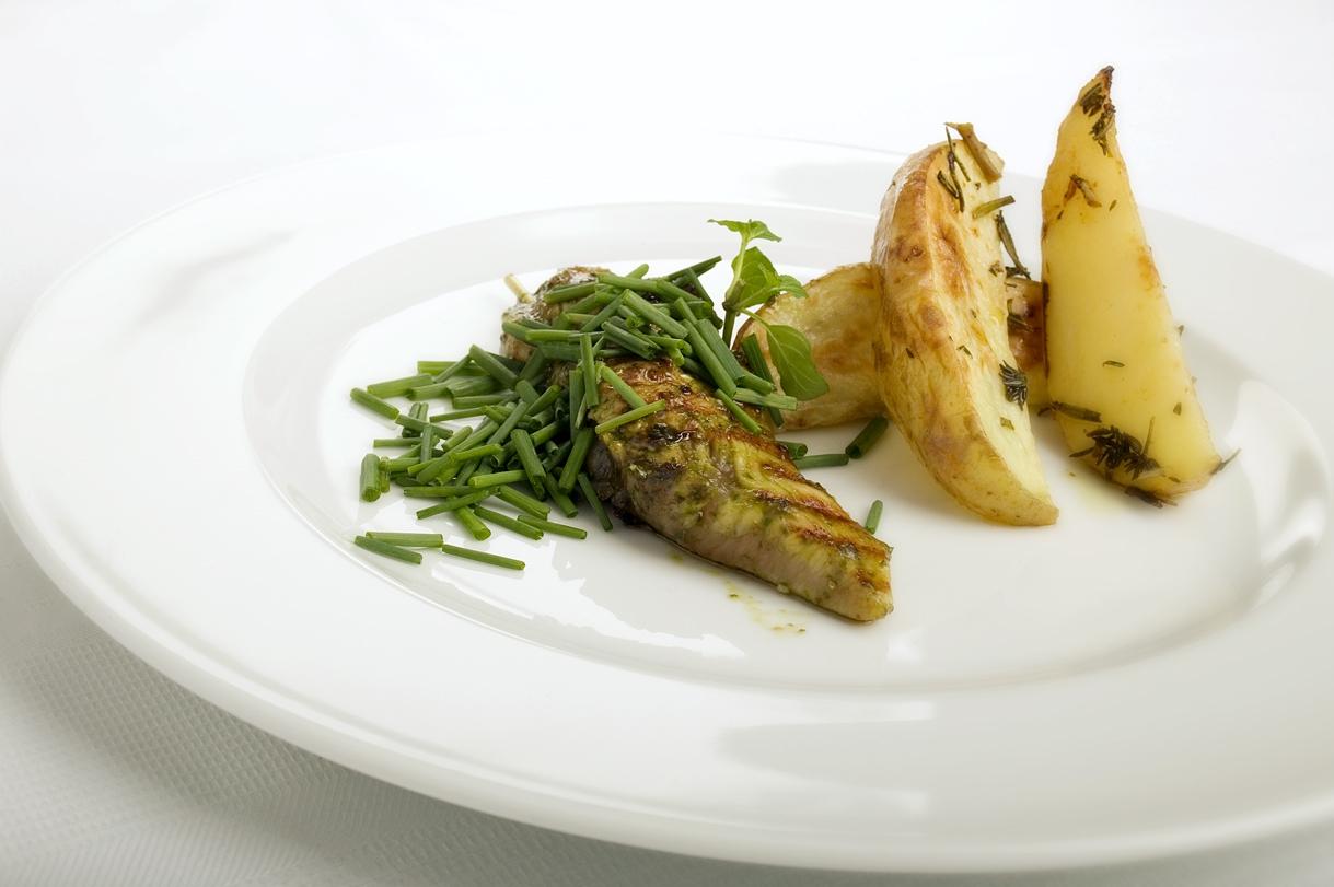 Grillet kyllingebryst med urter