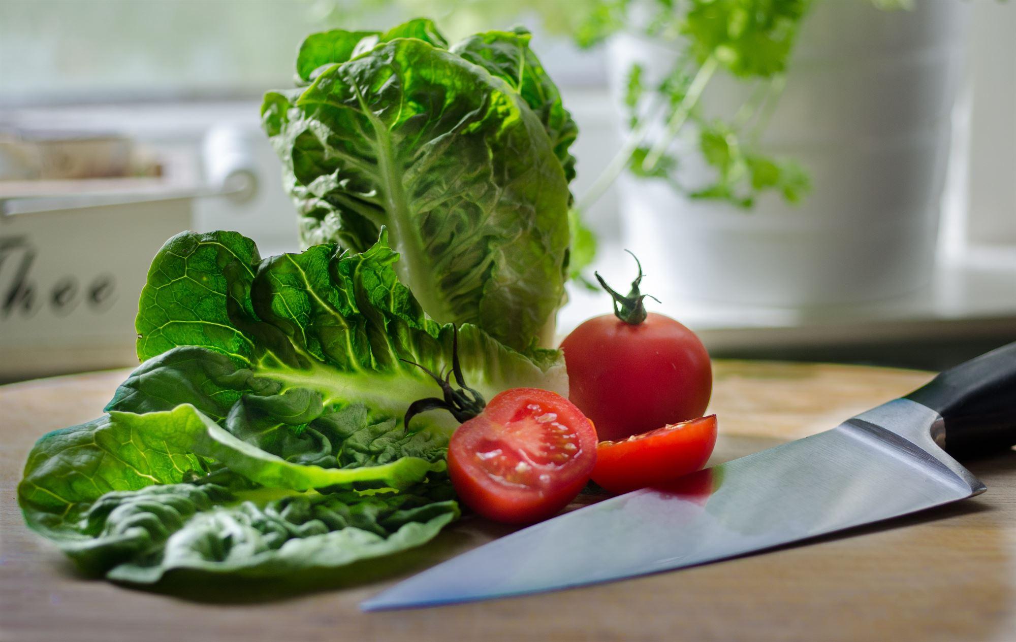 Cherrytomater med salatskud