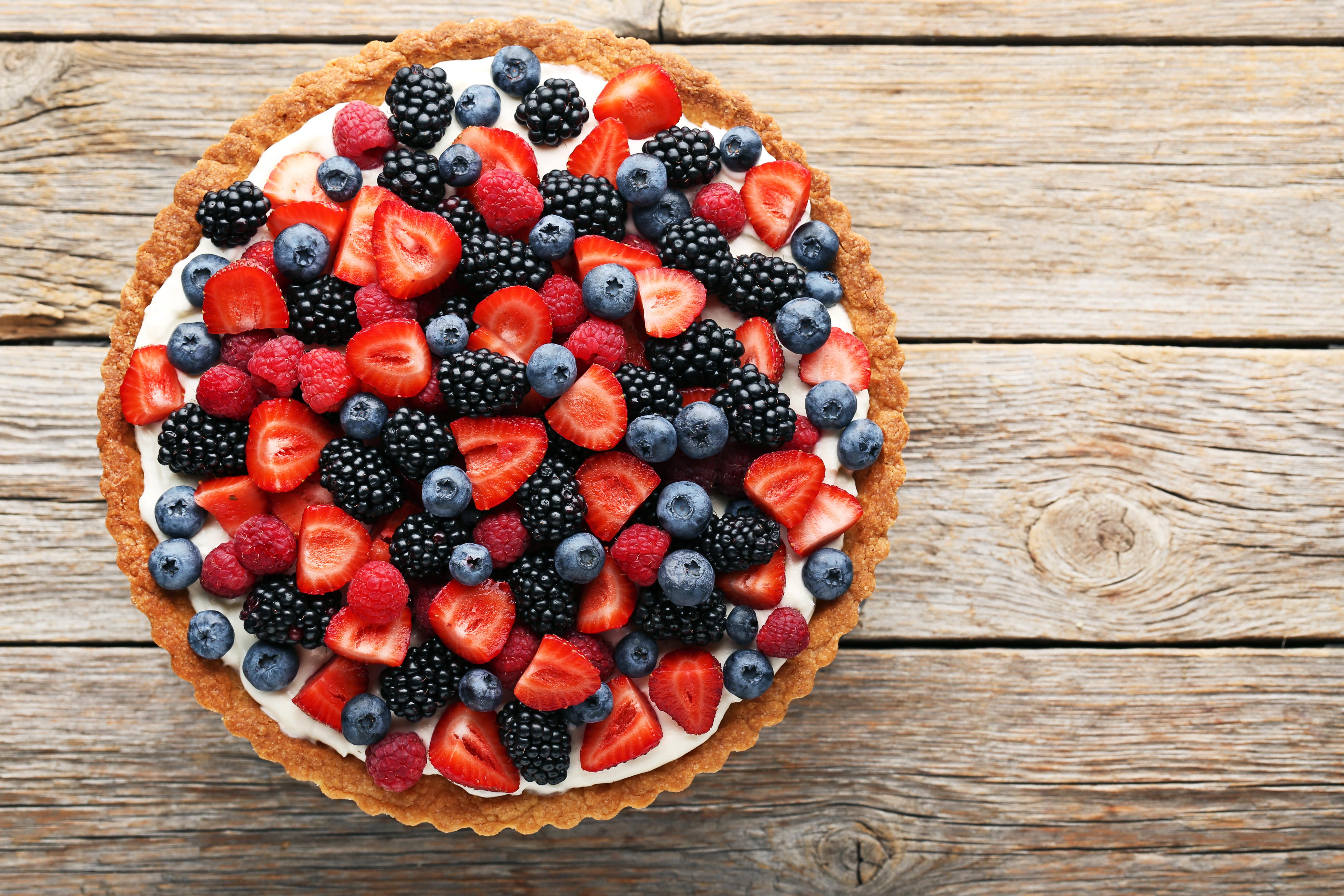 Frugttærte