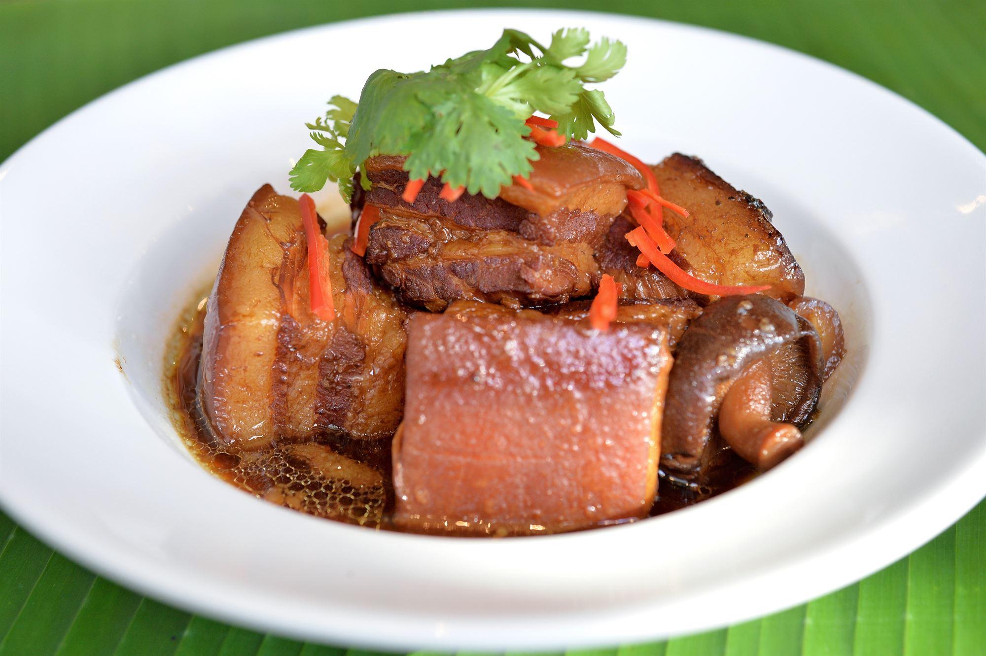 Svinebryst med asiatisk smag