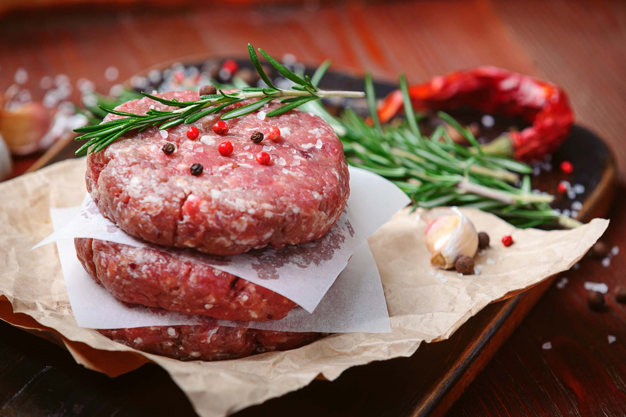 Bøf - burger - de bedste
