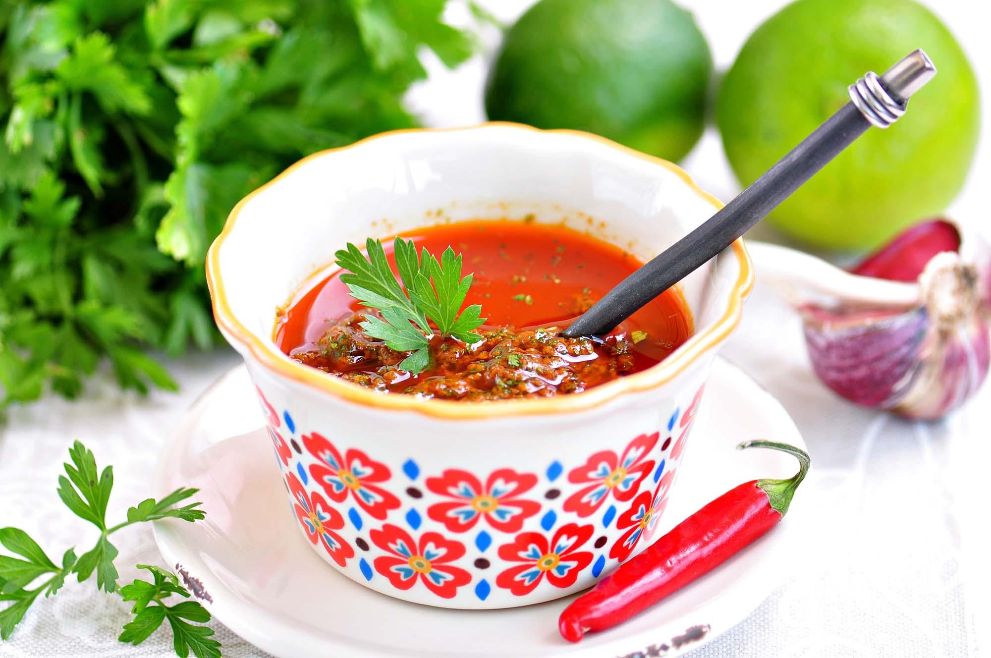 Chili-lime marinade