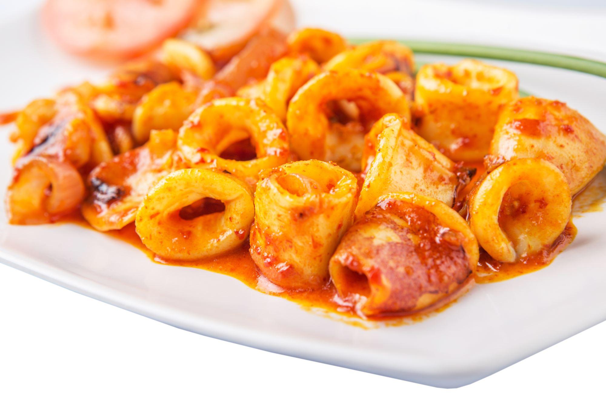 Blæksprutte sambal