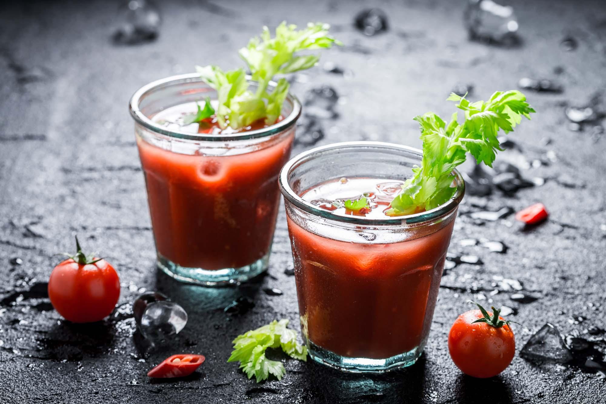 Krydret tomatcocktail