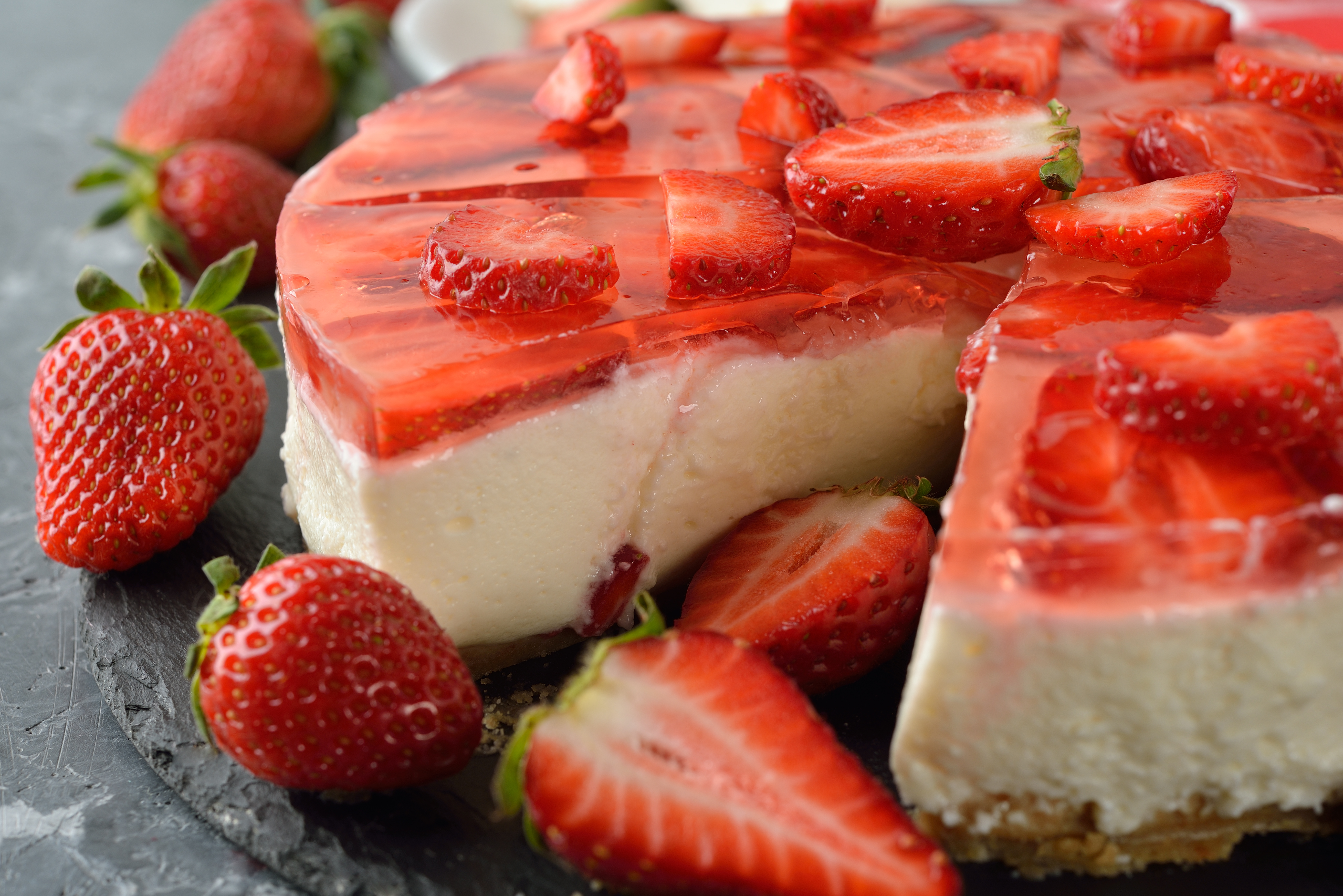 Koldskål cheesecake