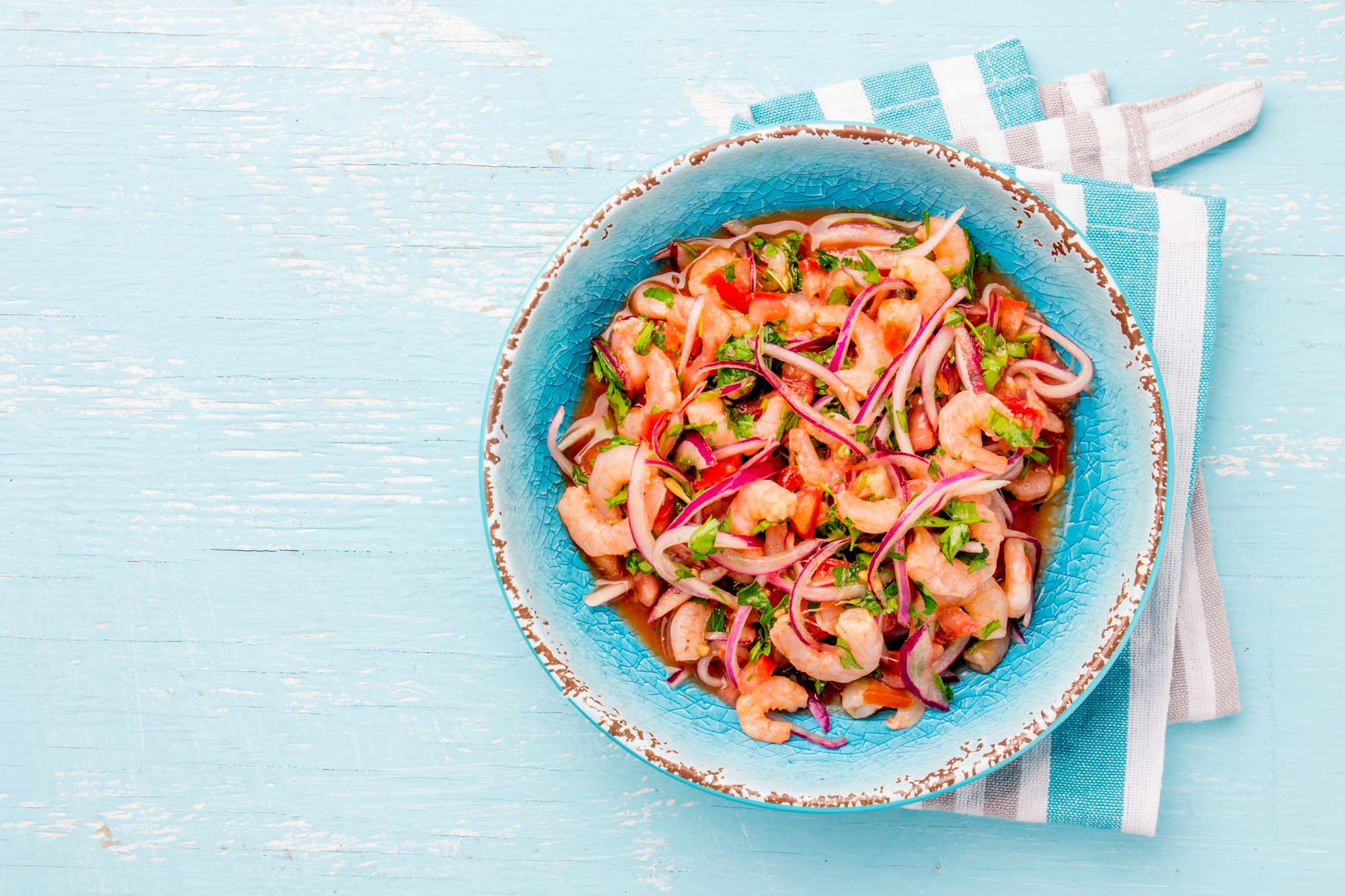 Bloody ceviche
