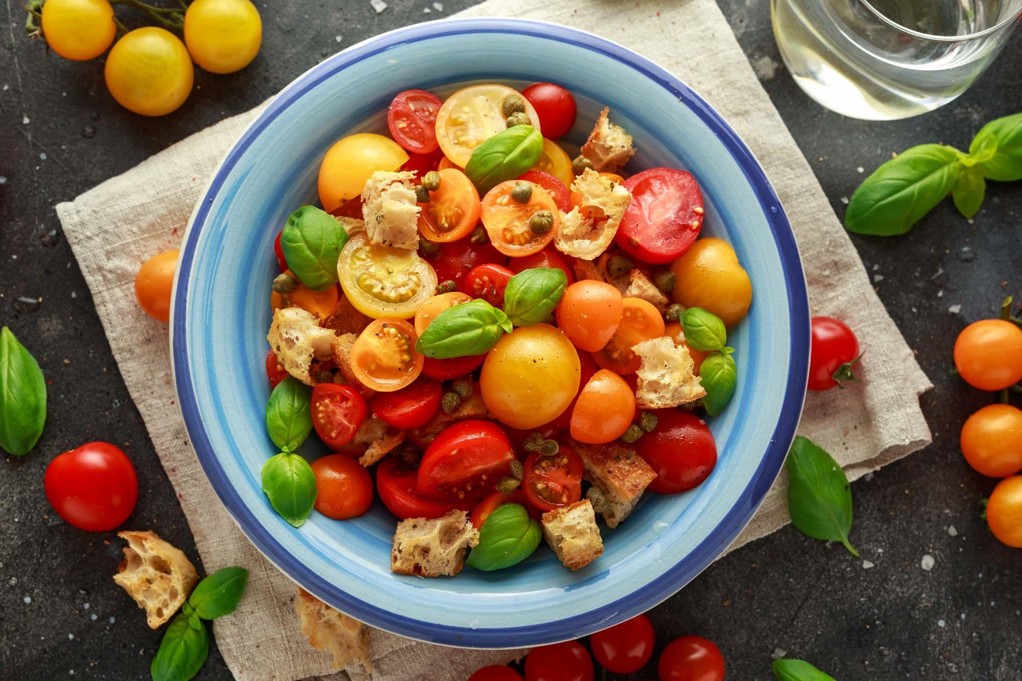 Panzanella - brødsalat med tomater