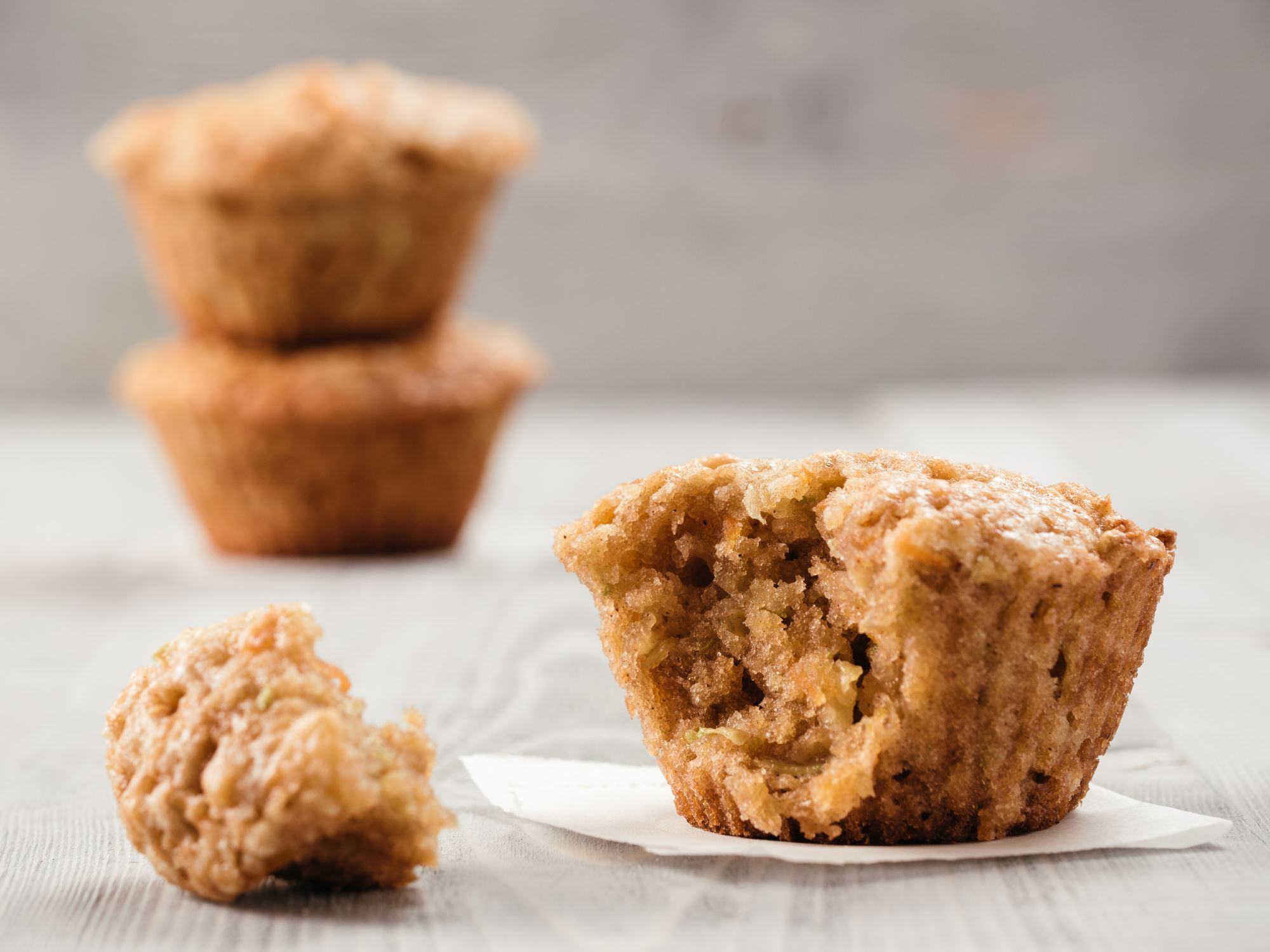 Courgette-muffins