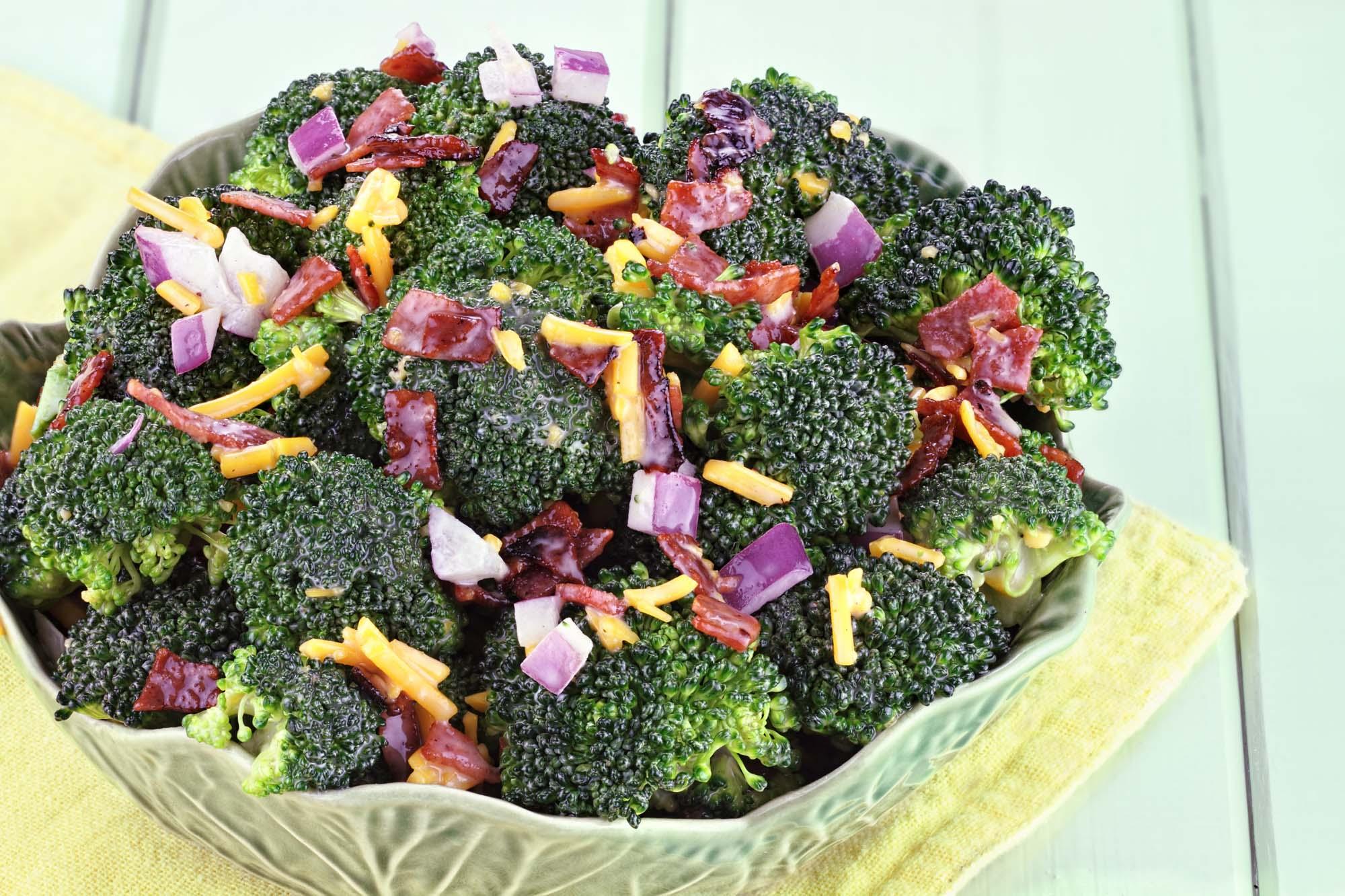 Birgittes Broccoliesalat