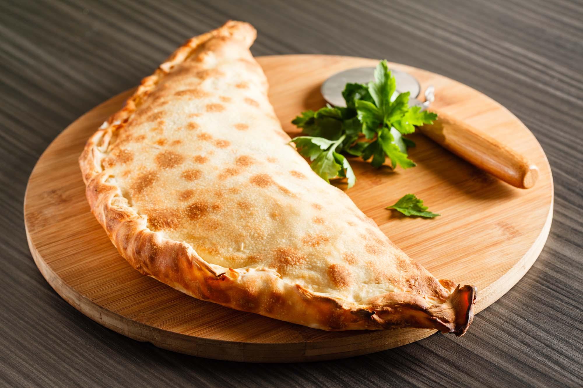 Indbagt pizza (Calzone)