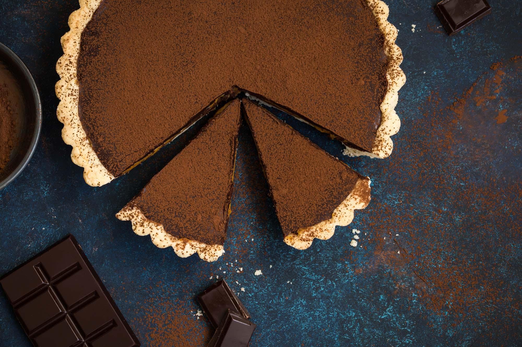 Chokolademoussetærte
