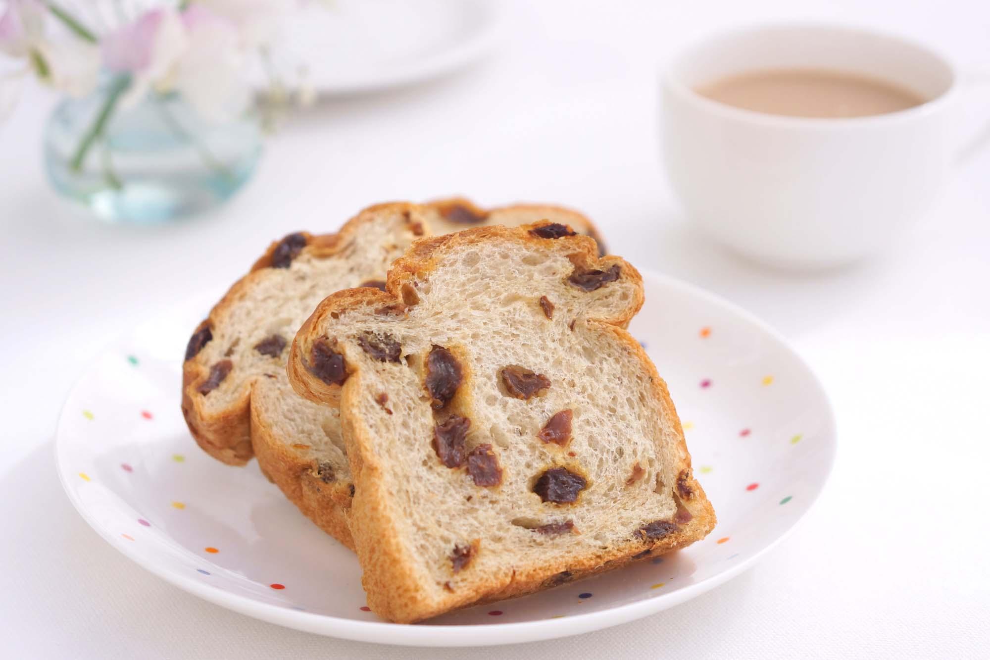Brød med tørrede frugter