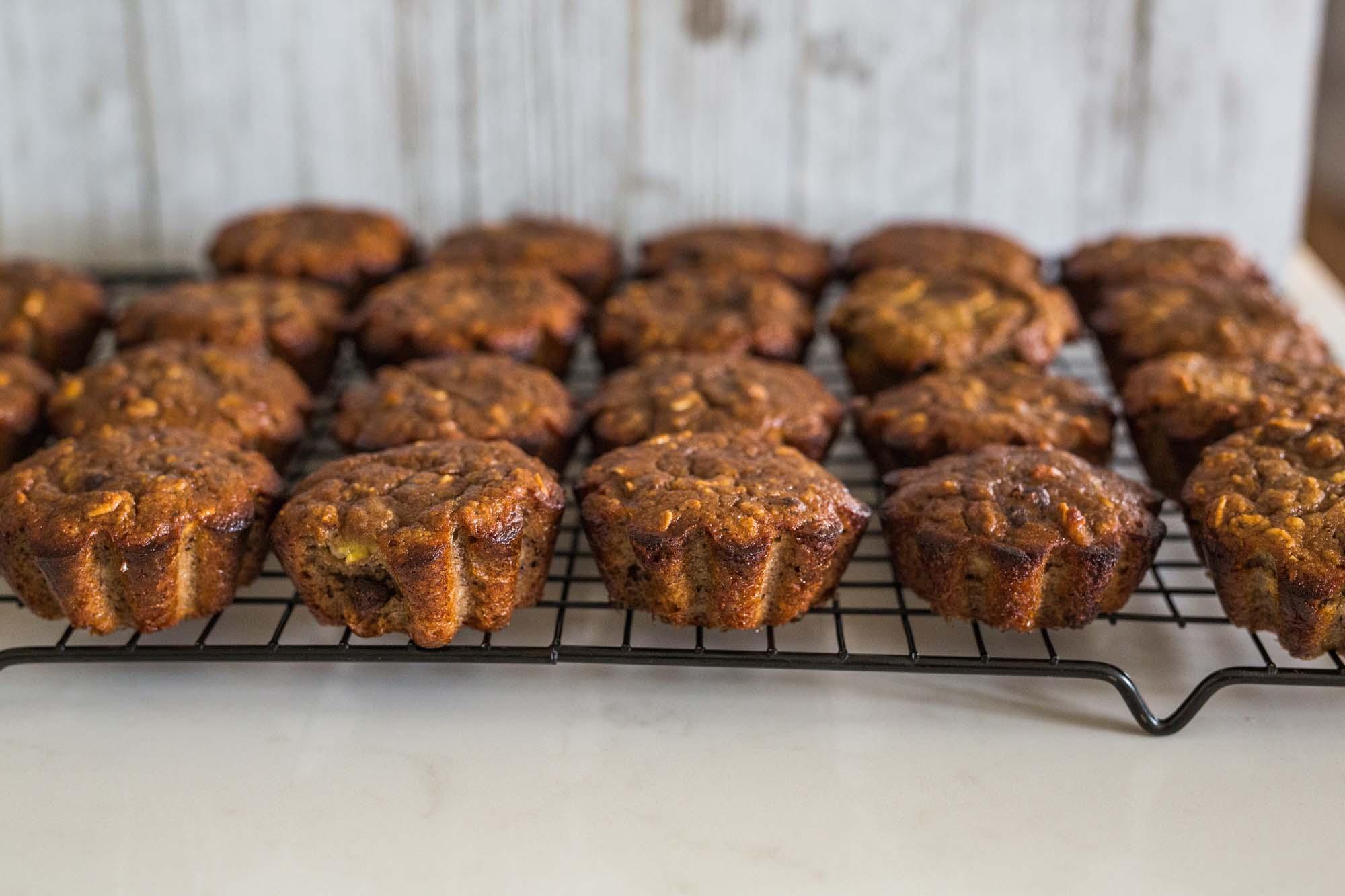 Madmuffins med oksekødsfyld