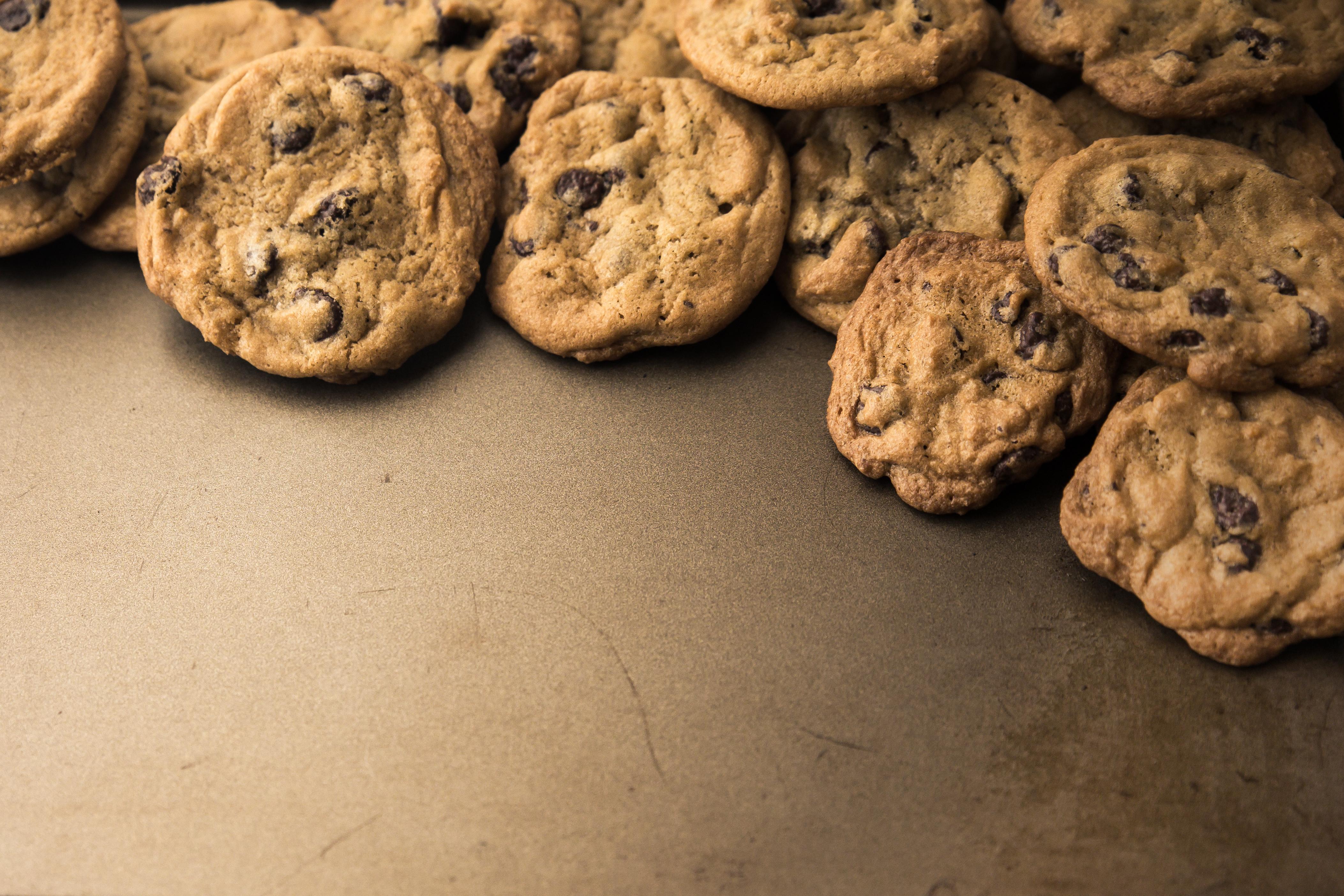 Chokoladeglade cookies