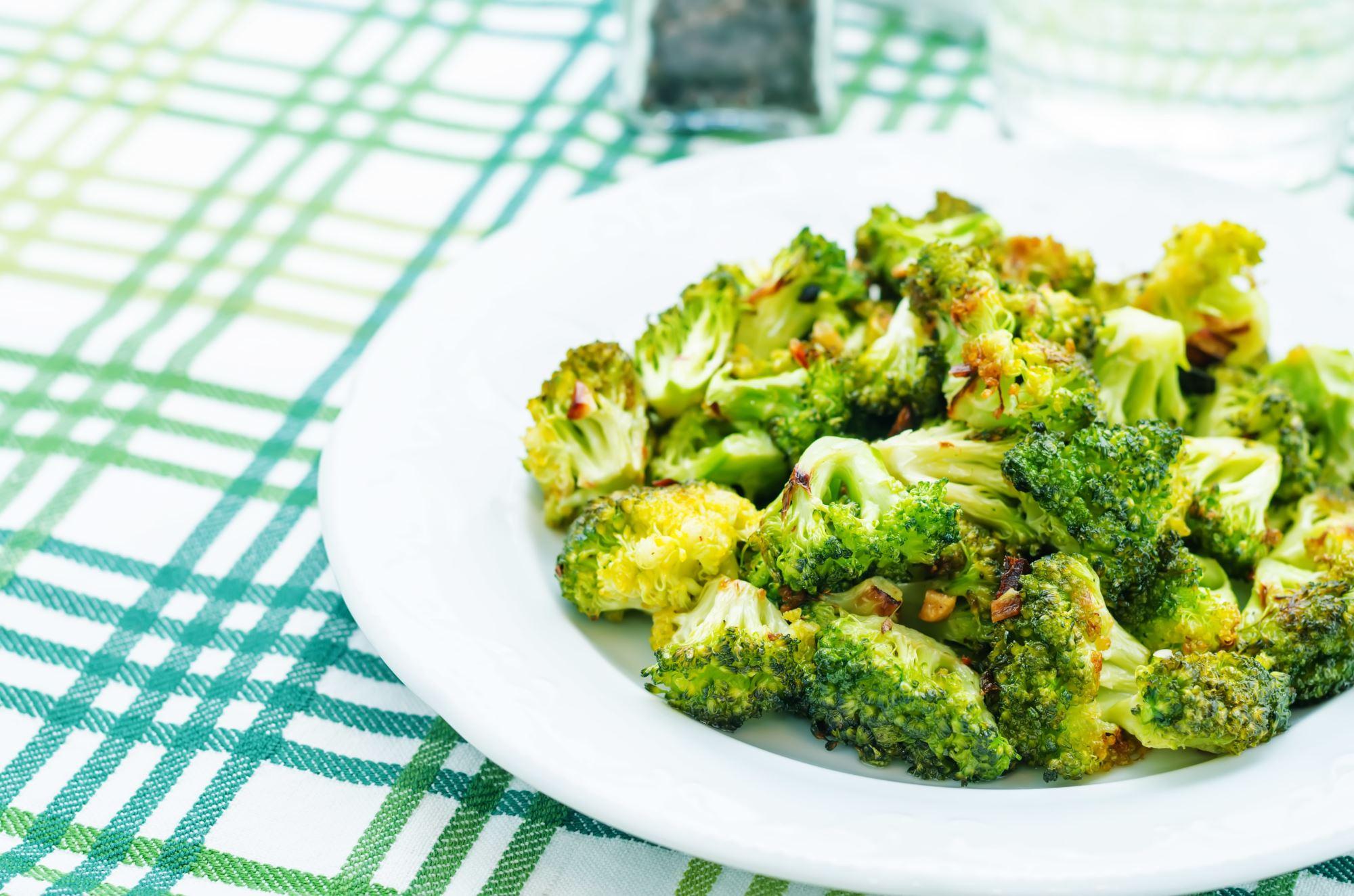Broccoli med hvidløg