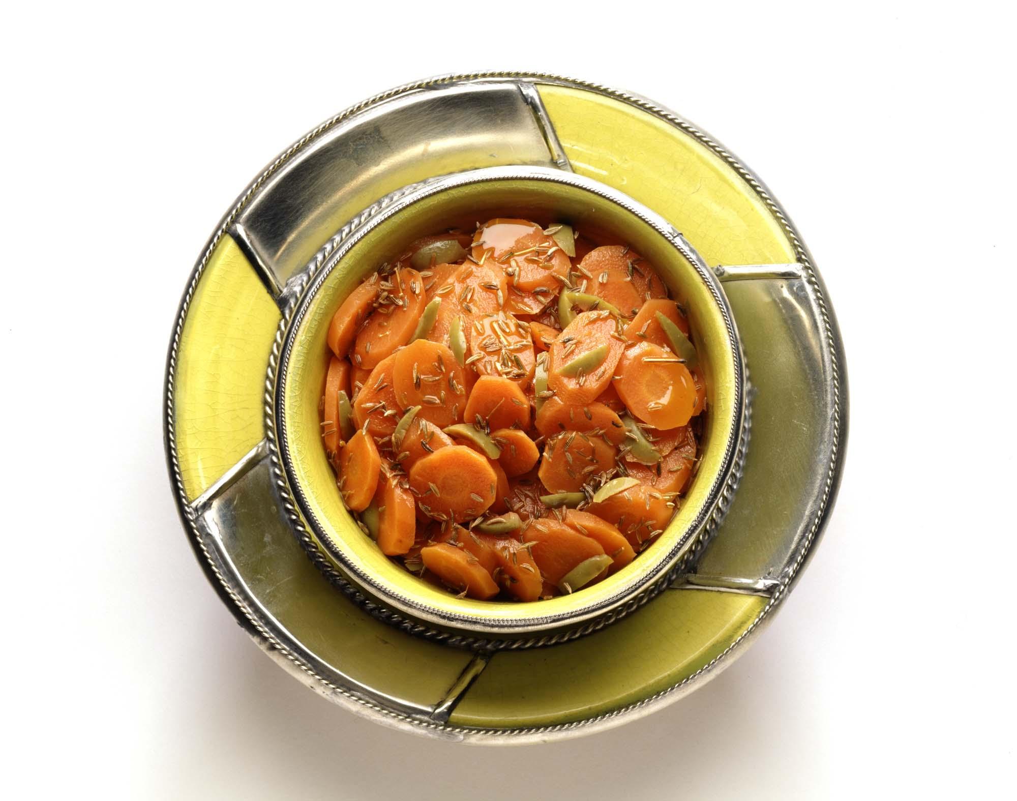 Salat - Marokkansk gulerodssalat