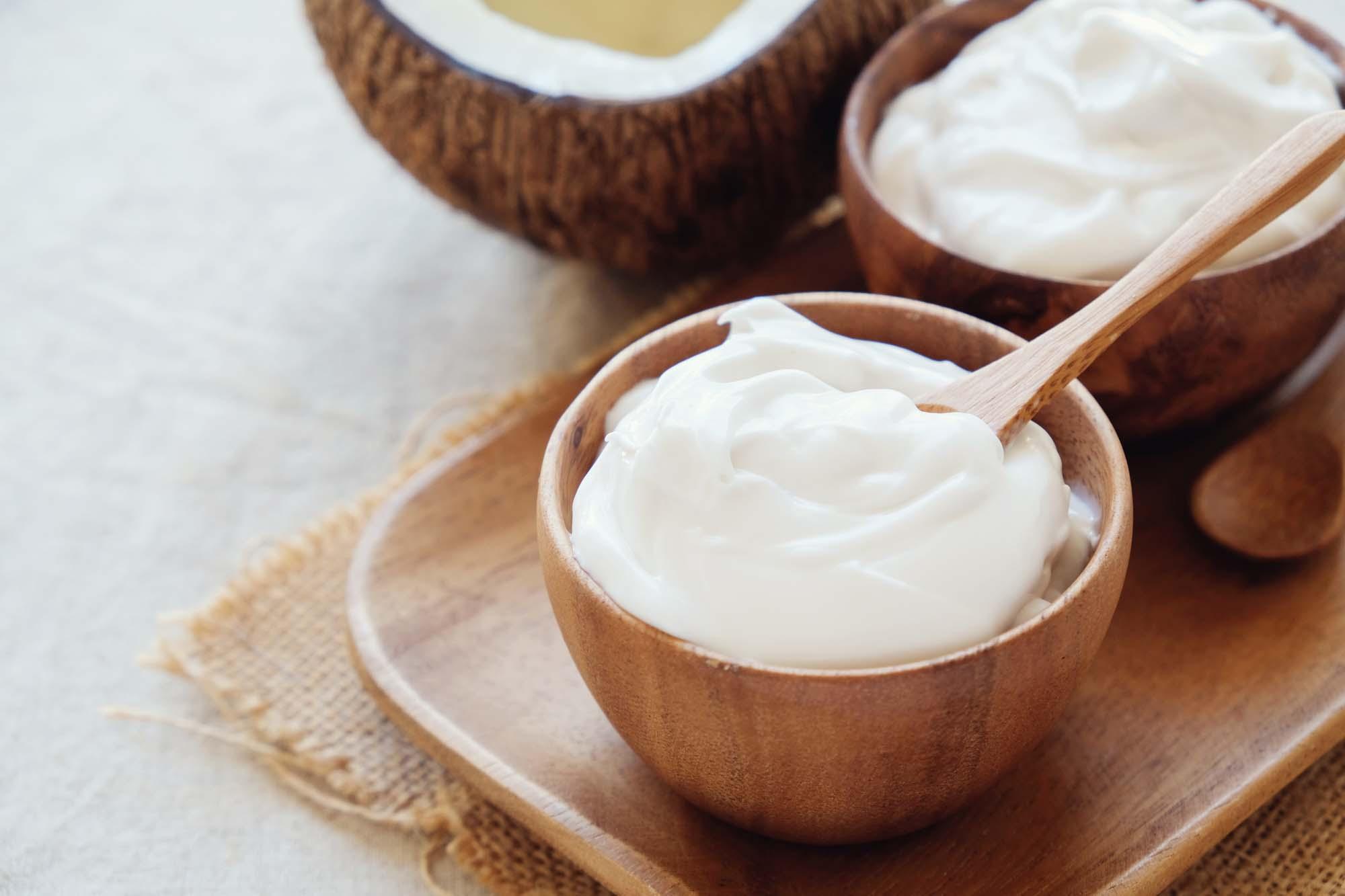 Youghurt mousse Proteinrig