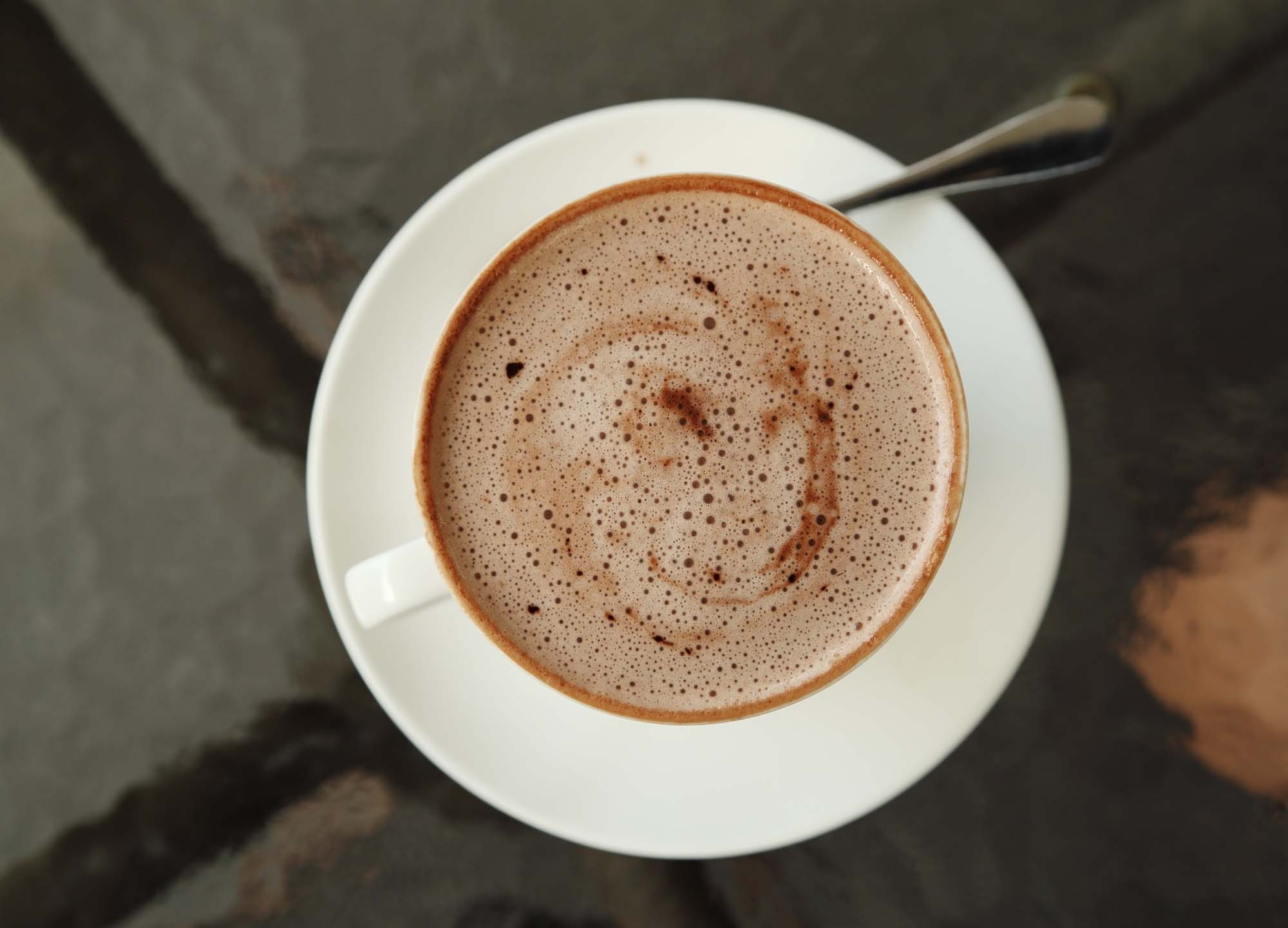 Hjemmelavet varm cacao