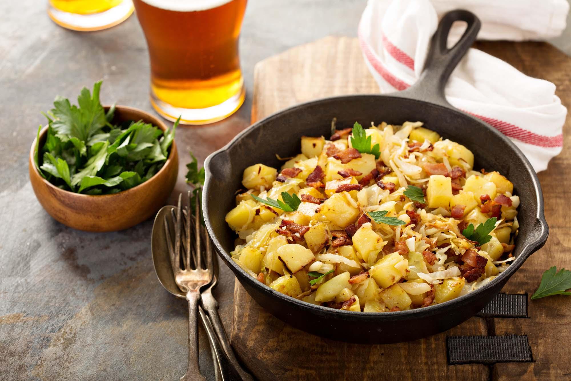 Bacon-kartofler