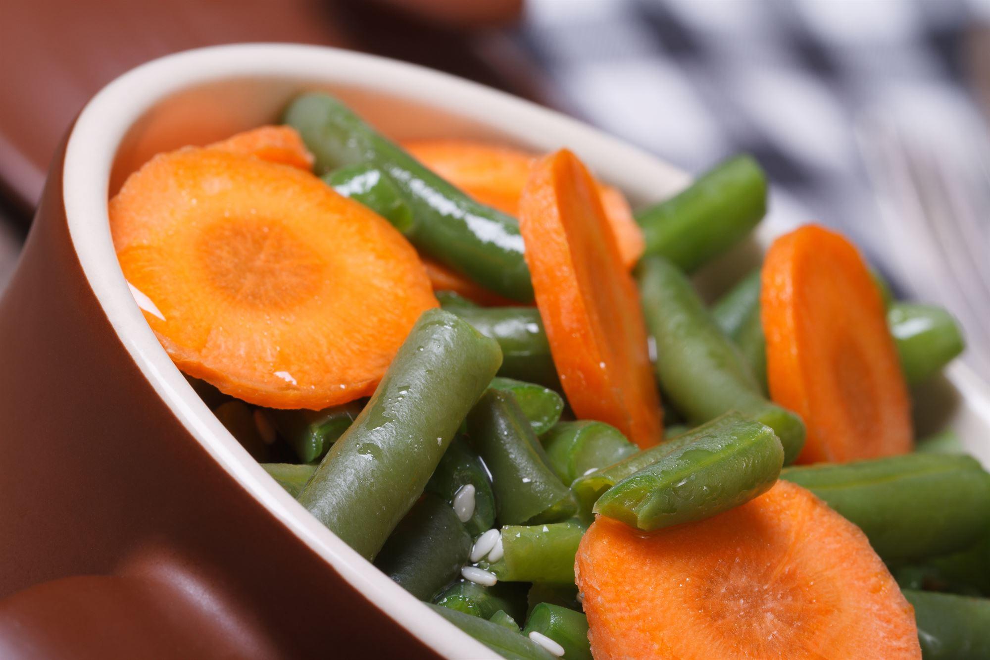 Marinerede grøntsager