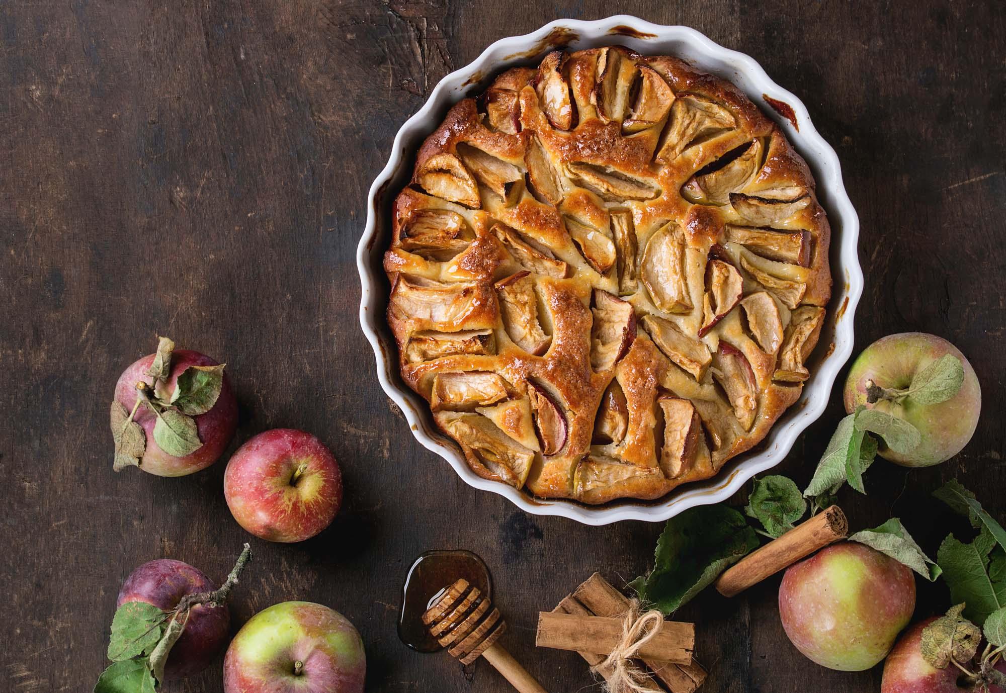 Æblekage familiejournal