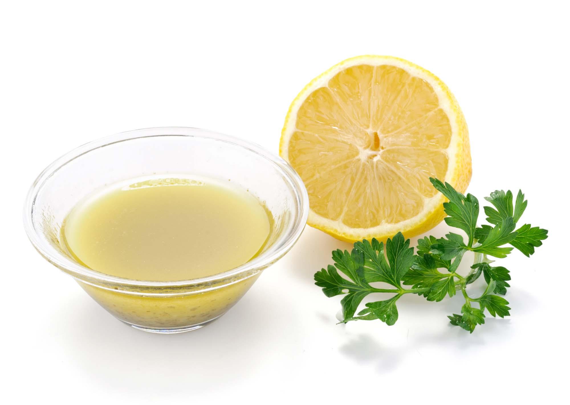 Krydret citrondressing