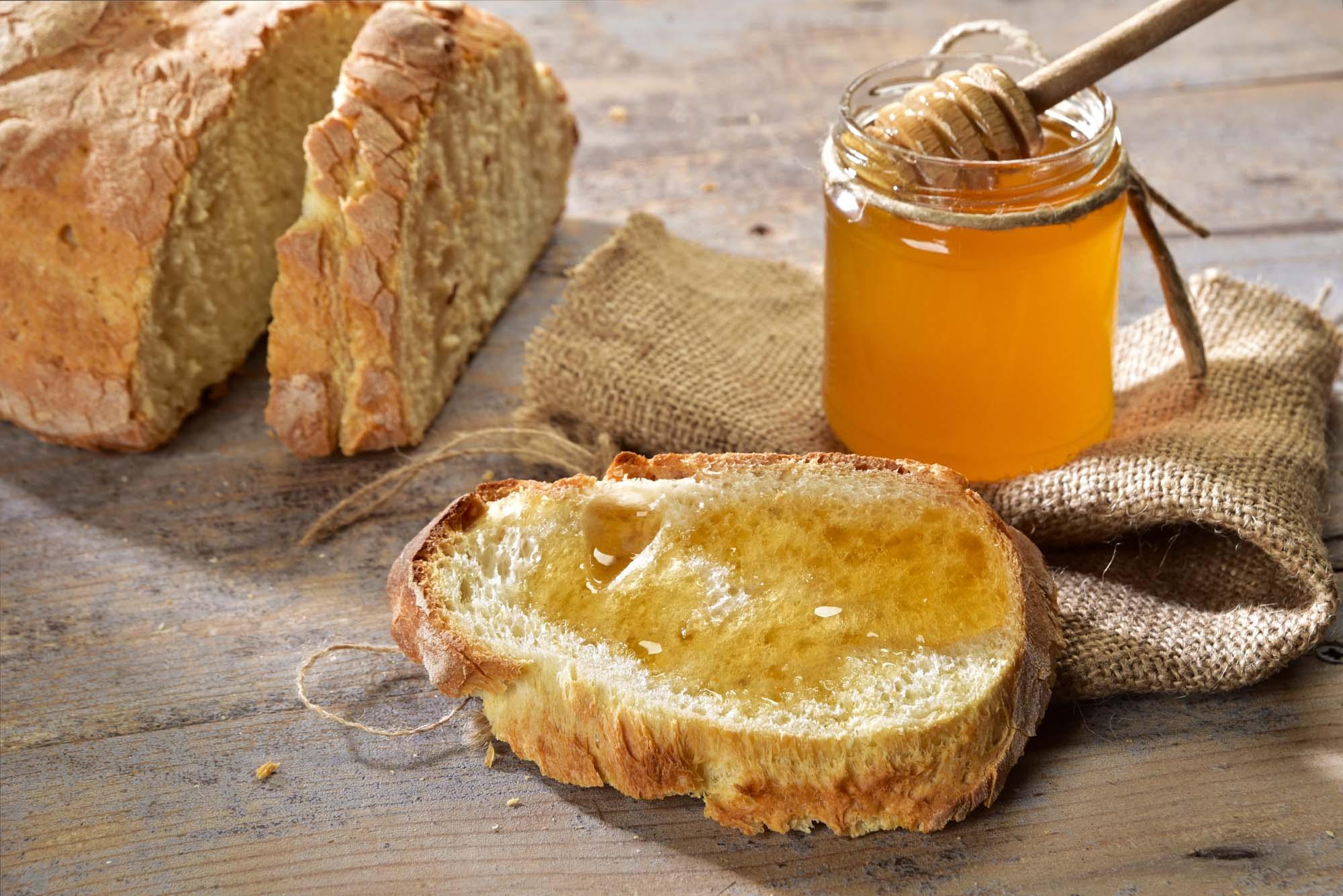 Afrikansk honning brød